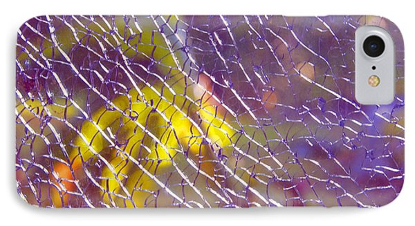 Shattered Glass Abstract IPhone Case