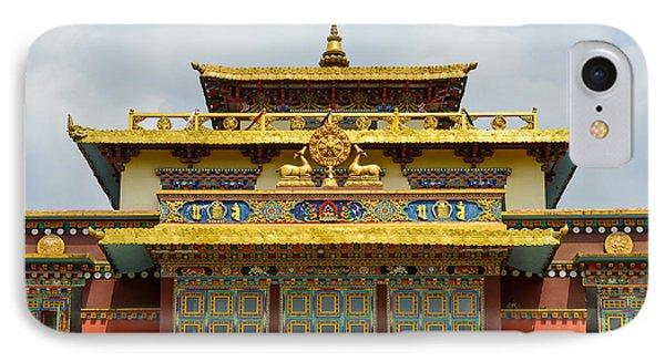 Shechen Monastery In Kathmandu IPhone Case