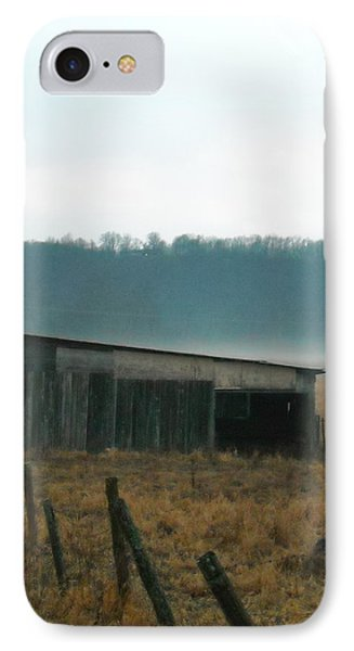 Shed In A Field IPhone Case