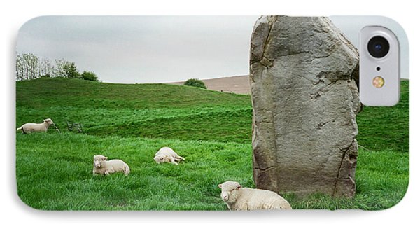 Sheep At Avebury Stones - Original IPhone Case