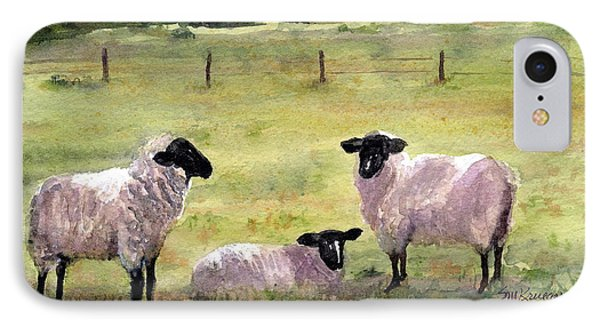 Sheep In The Meadow IPhone Case