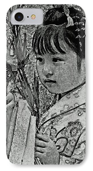 Shichi-go-san Girl IPhone Case