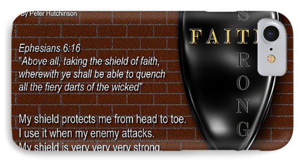 Shield Of Faith IPhone Case