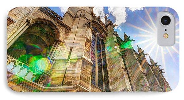 Shining On La Sainte-chapelle IPhone Case