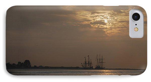 Ships At Dawn IPhone Case