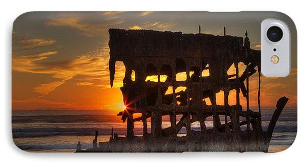 Shipwreck Sunburst IPhone Case