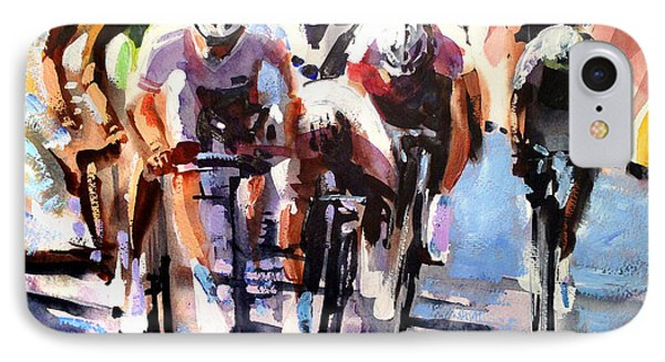 Bicycle iPhone 8 Case - Short Sharp Sprint by Shirley  Peters