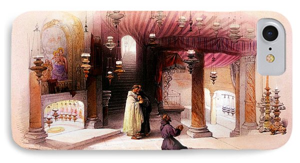 Shrine Of The Nativity Bethlehem April 6th 1839 IPhone Case