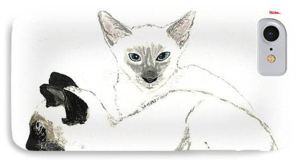 Siamese Cats IPhone Case