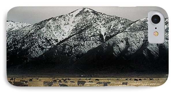 Sierra Nevada Mountains Near Lake Tahoe IPhone Case