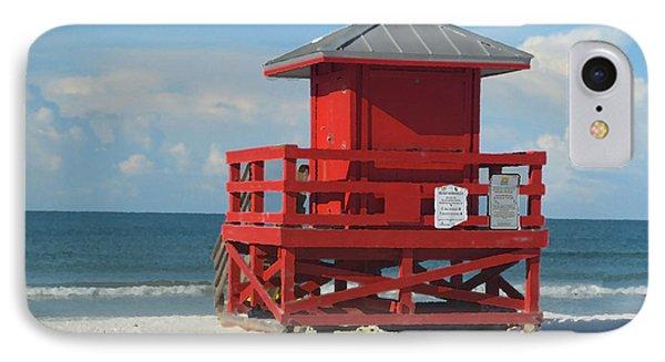 Siesta Key Beach 3 IPhone Case