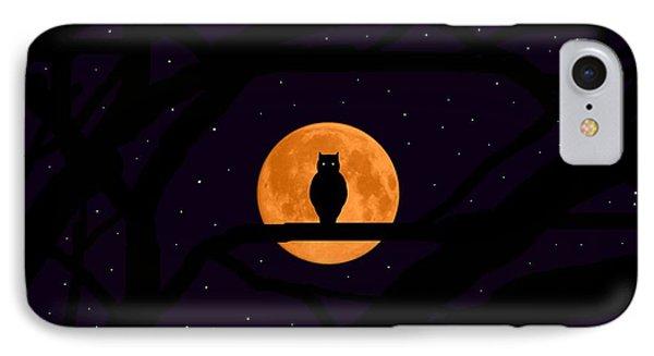 Silent Harvest Moonlight Predator IPhone Case