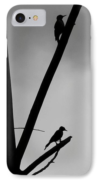 Silhouette 1 IPhone Case