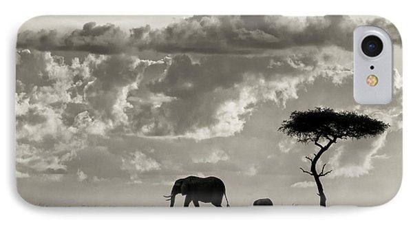 Silhouettes Of Mara IPhone Case
