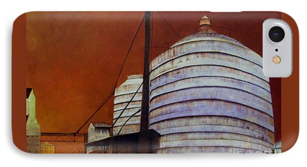 Silos With Sienna Sky IPhone Case
