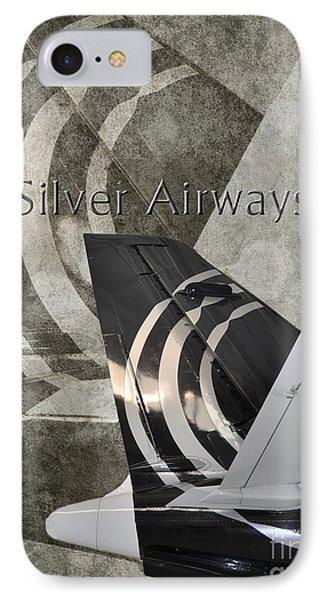 Silver Airways Tail Logo IPhone Case