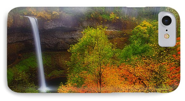 Silver Falls Pano IPhone Case