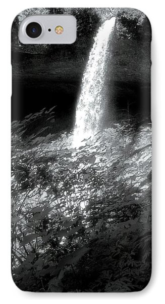 Silver Falls Silver IPhone Case