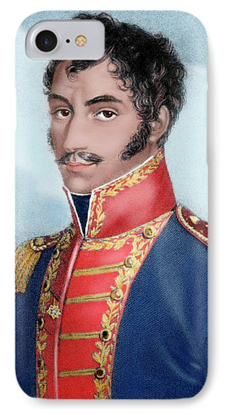 Simon Bolivar (caracas, 1793-santa IPhone Case