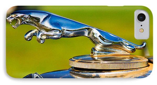 Simply Jaguar-front Emblem IPhone Case