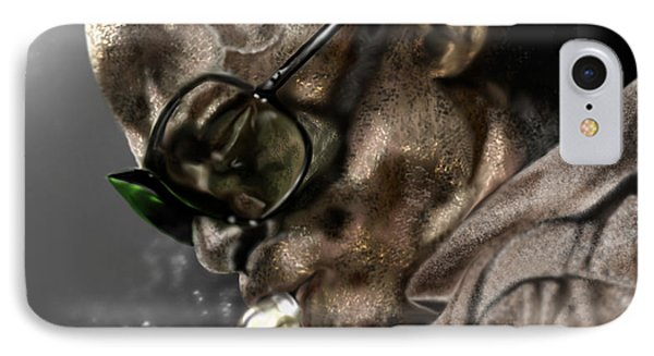 Saxophone iPhone 8 Case - Simply Miles by Reggie Duffie