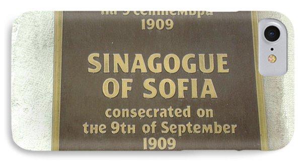 Sinagogue Of Sofia Bulgaria IPhone Case