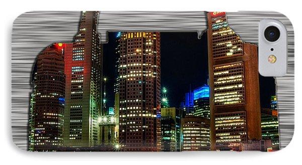 Singapore Skyline In A Handbag IPhone Case