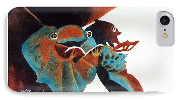 Singing Frog Duet 2 IPhone Case