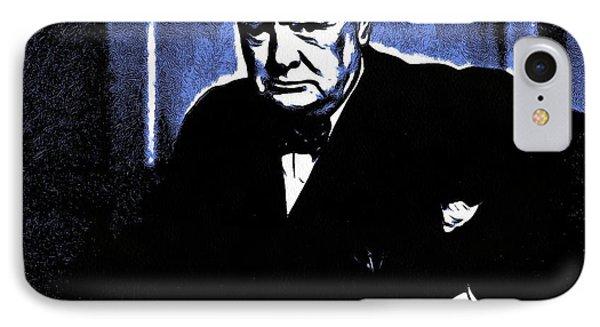 Sir Winston Churchill IPhone Case