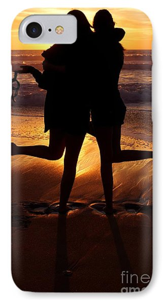 Sister Sunset IPhone Case