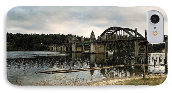 Siuslaw River Bridge IPhone Case