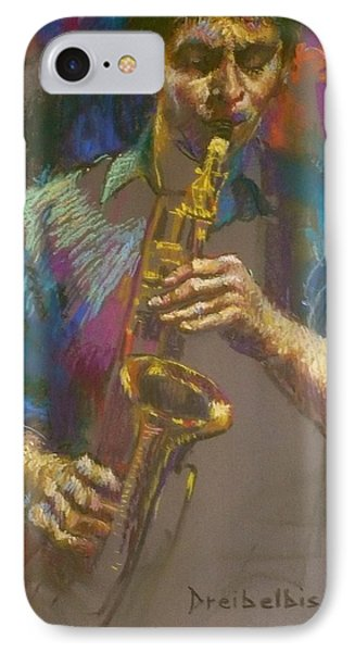 Sizzling Sax IPhone Case