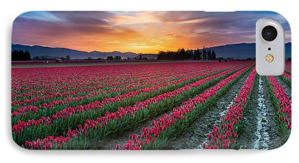 Skagit Valley Predawn IPhone Case