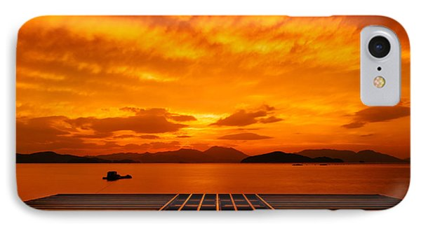 Skies Ablaze - One IPhone Case