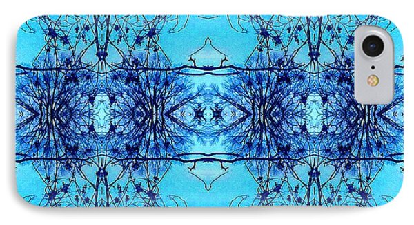 Sky Lace Abstract Photo IPhone Case