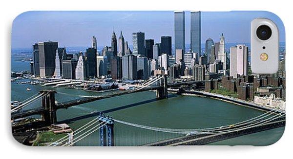 Skyline Showing World Trade Center IPhone Case