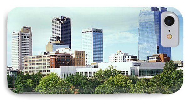 Skyscrapers In A City, Little Rock IPhone Case
