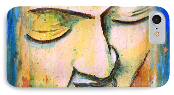 Sleeping Buddha Head IPhone Case
