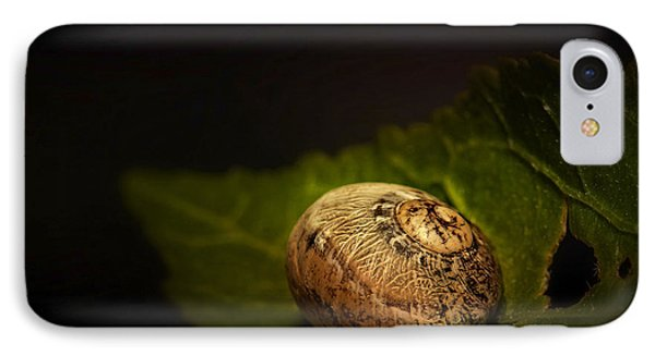 Sleeping Snail 01 IPhone Case