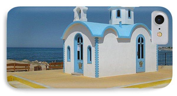 Small Crete Church IPhone Case