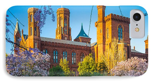 Smithsonian Castle IPhone Case