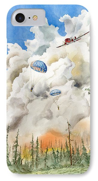 Smoke Jumpers IPhone Case
