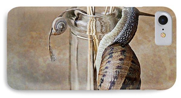 Snails IPhone Case