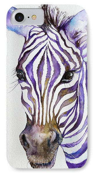 Snazzy_ Purple Stripes IPhone Case