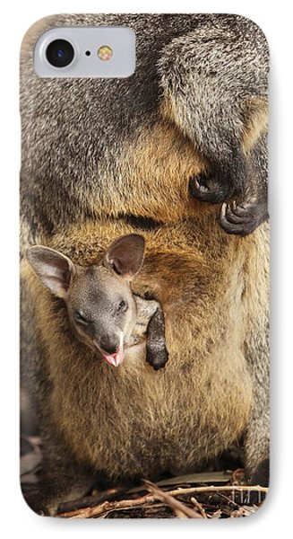 Sneezing Wallaby IPhone Case