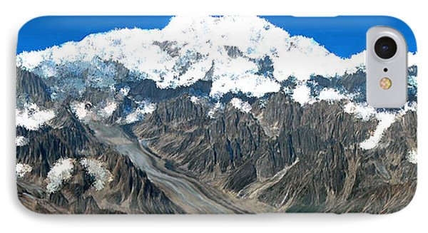 Snow Capped Canyon IPhone Case