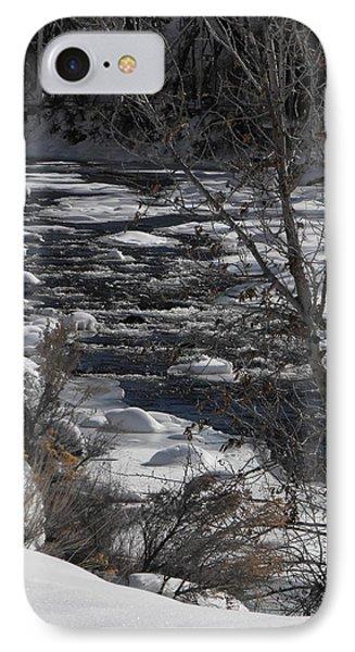 Snow Capped Stream IPhone Case