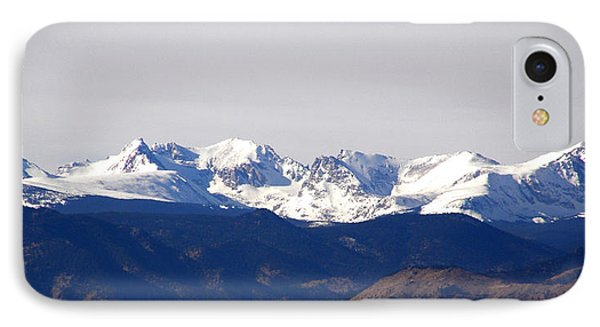 Snow Covered Indian Peaks IPhone Case