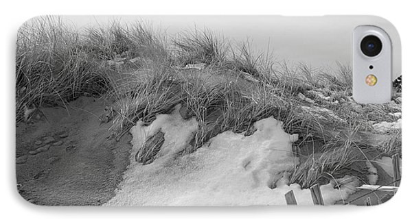 Snow Covered Sand Dunes IPhone Case
