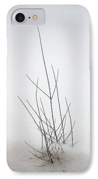 Snow Drifts In Mongolia IPhone Case